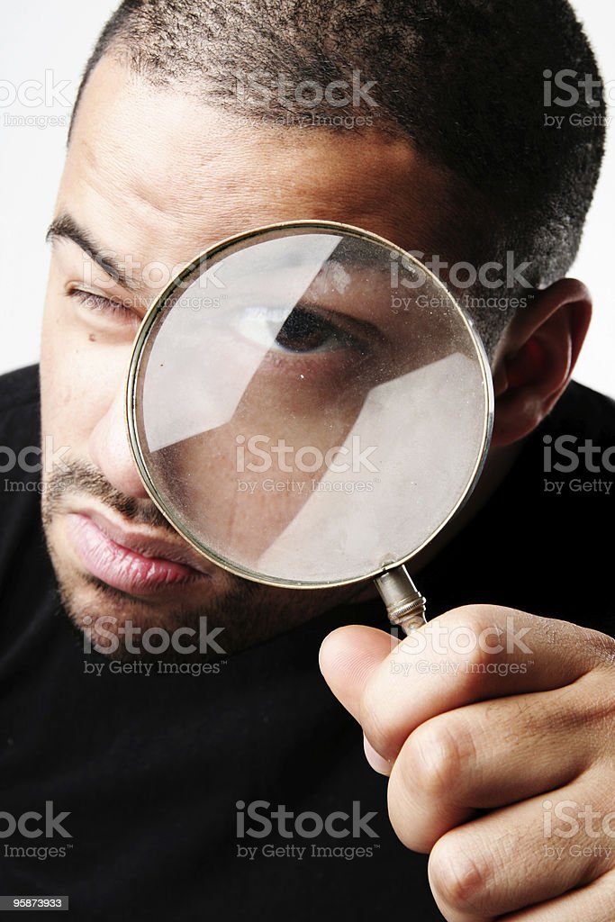 inspector royalty-free stock photo