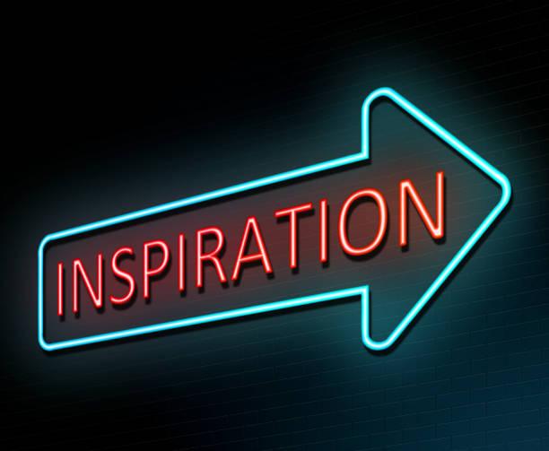 Inspiration concept. stock photo
