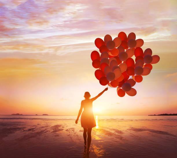 Inspiration, Traum und Kreativität, glückliches Leben – Foto