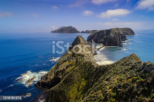 Anacapa Island, Channel Islands National Park, March 28, 2015, Ventura, California, USA