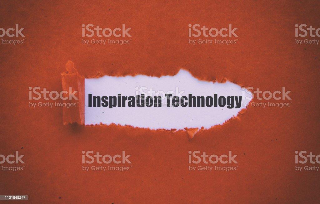 Ilham teknolojisi stok fotoğrafı