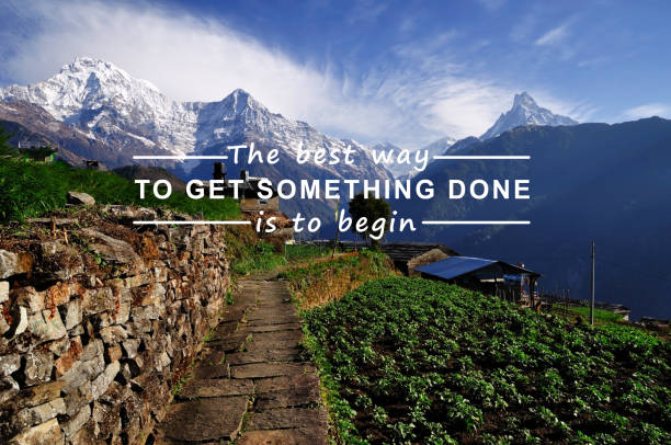 inspirational quotes - motivation stock pictures, royalty-free photos & images