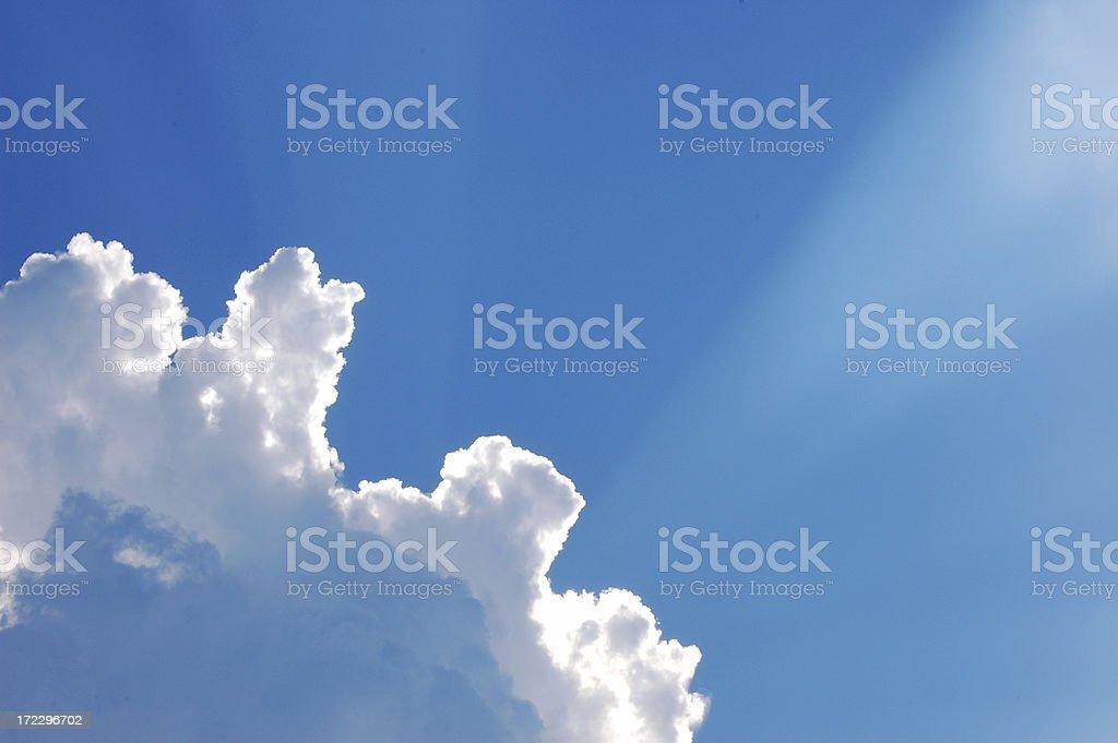 Inspirational Sky royalty-free stock photo