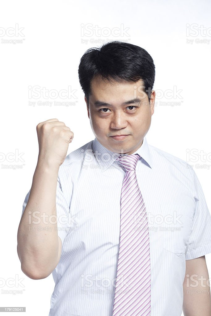 Inspirational young man royalty-free stock photo