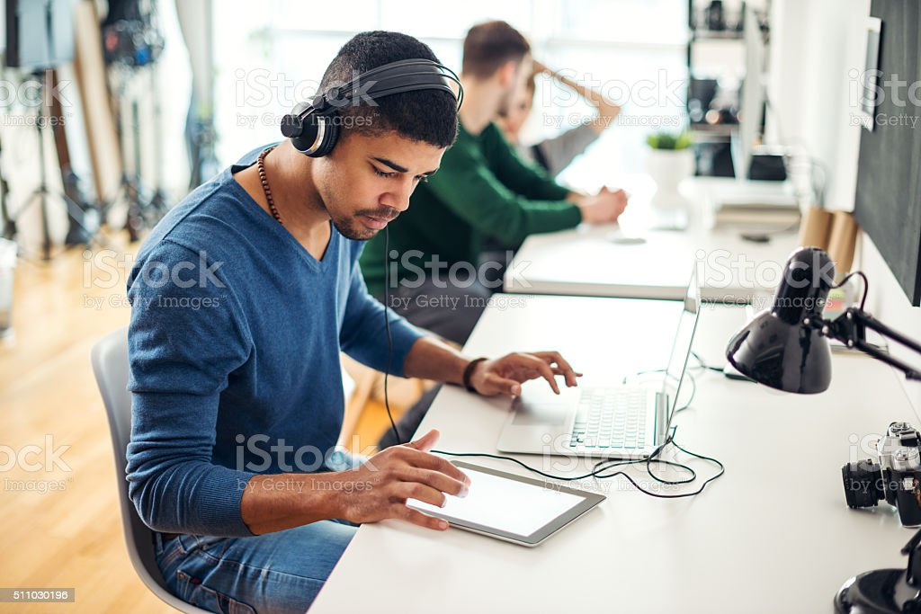 Inspired by music stock photo
