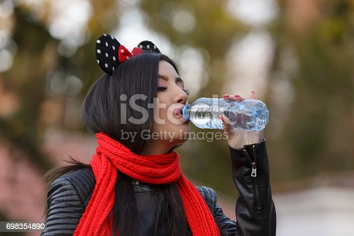 istock inspired styling young women drinking water 698354890