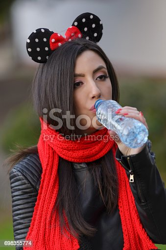 istock inspired styling young women drinking water 698355774