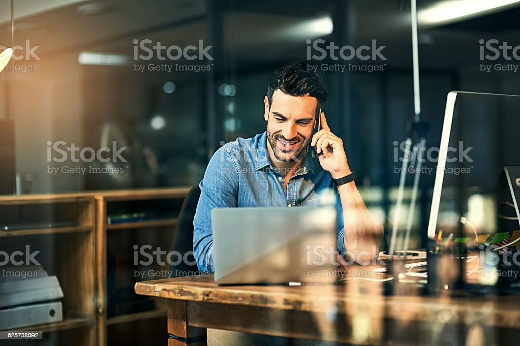 Inspiring productivity with a wealth of technology stock photo