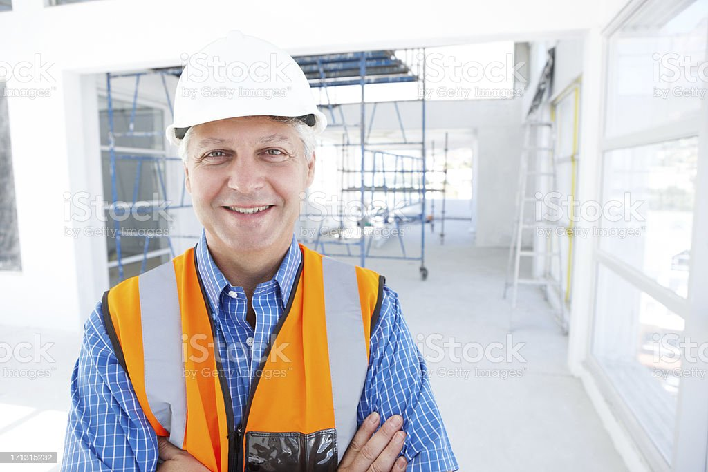 Inspiring trust and confidence royalty-free stock photo