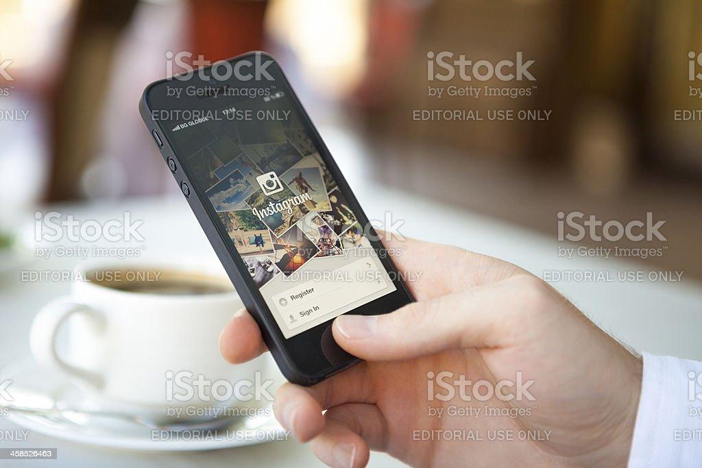 Instagram-app für iPhone 5 – Foto
