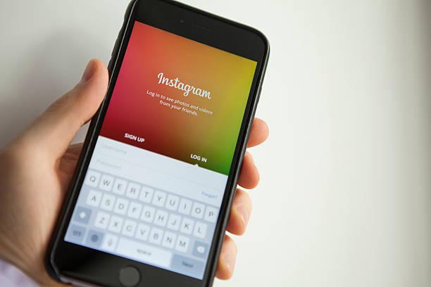 Instagram-app für iPhone 6 Plus – Foto
