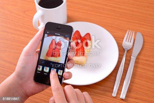 599114758 istock photo Instagram food photo with iPhone 516914841