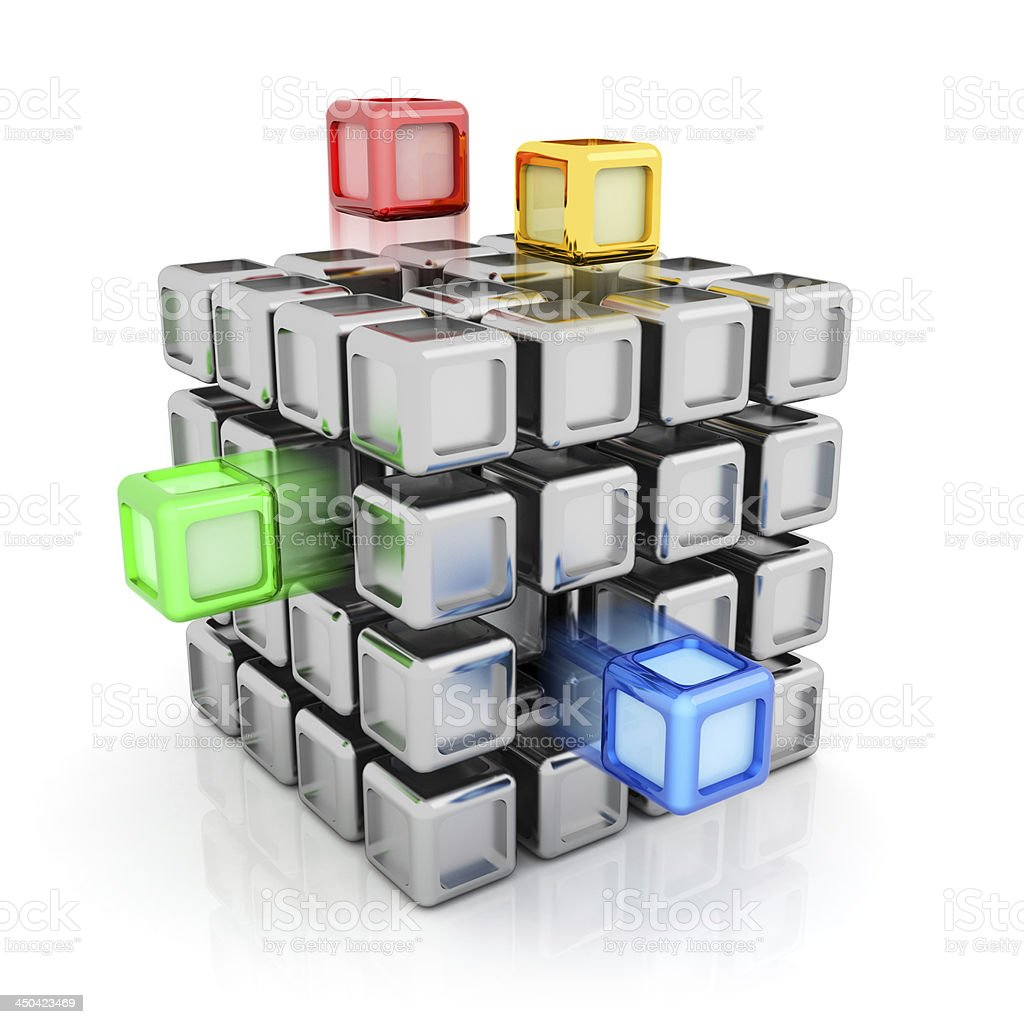 Installation concept stock photo