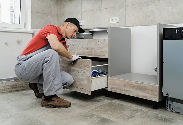 Installation of kitchen. – Foto