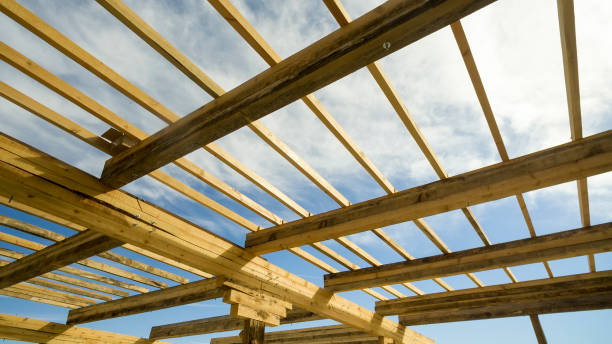 Best Roof Truss Stock Photos, Pictures & Royalty-Free Images - iStock
