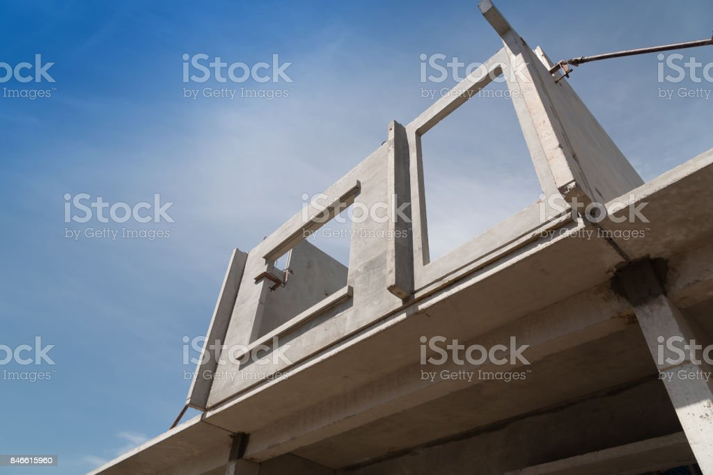 Installation Process Of Prefabricated Wall Panels For Residential Buildings Stock Photo Download Image Now Istock