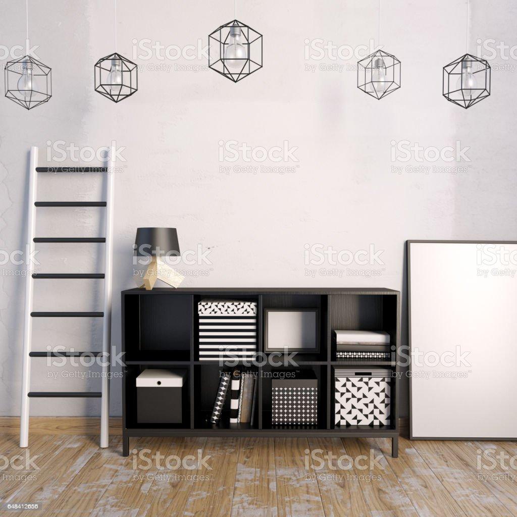 Photo libre de droit de Installation Avec Armoire Pour ...