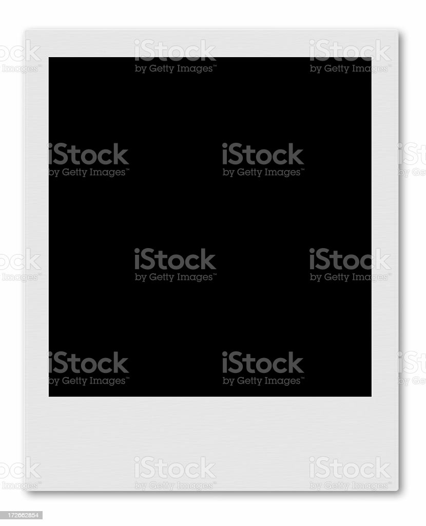 Instamatic Frame (Large) royalty-free stock photo