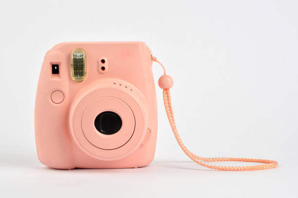 instant camera - polaroid stockfoto's en -beelden
