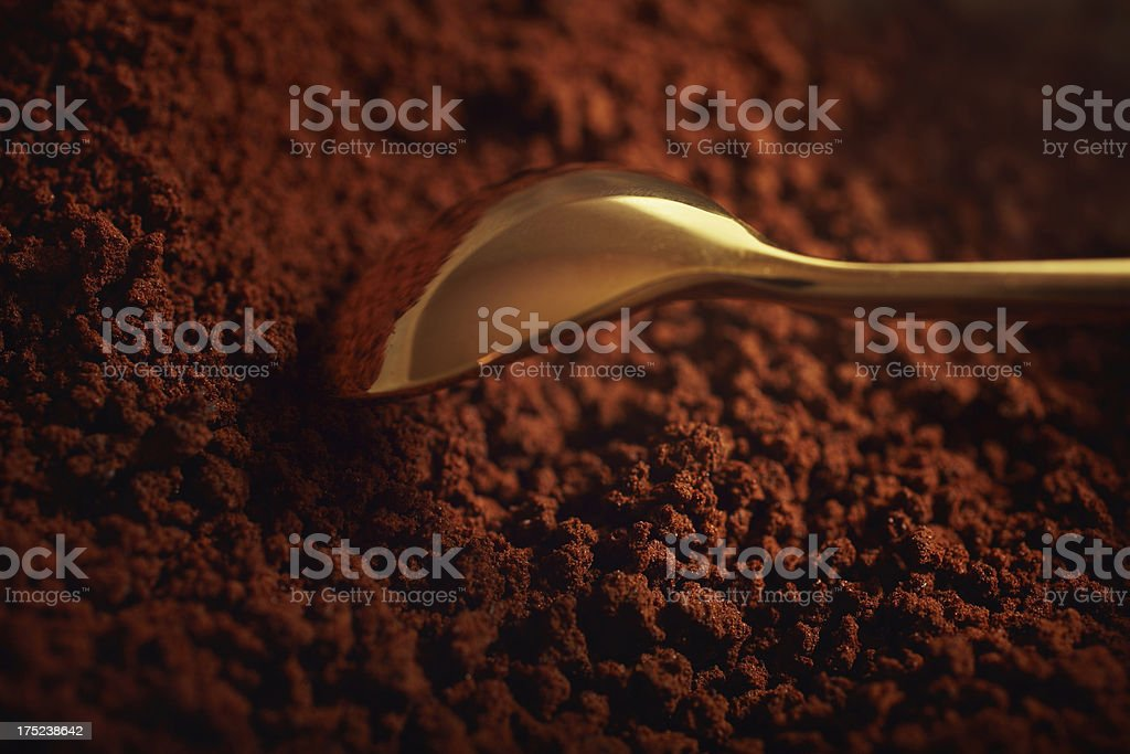 Instant coffee royalty-free stock photo
