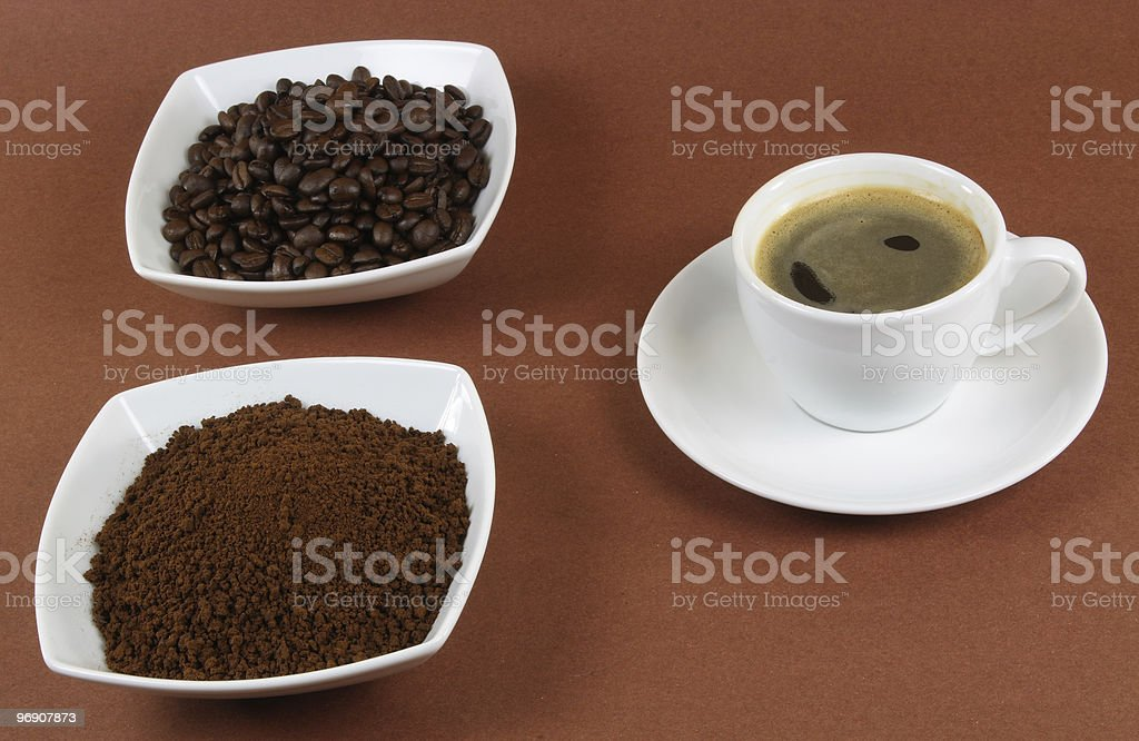 Instant coffee. royalty-free stock photo