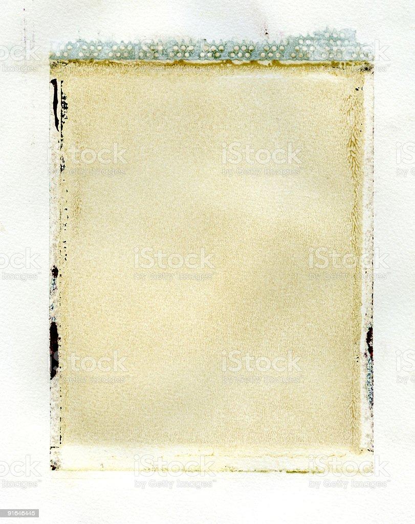 instant emulsion transfer stock photo