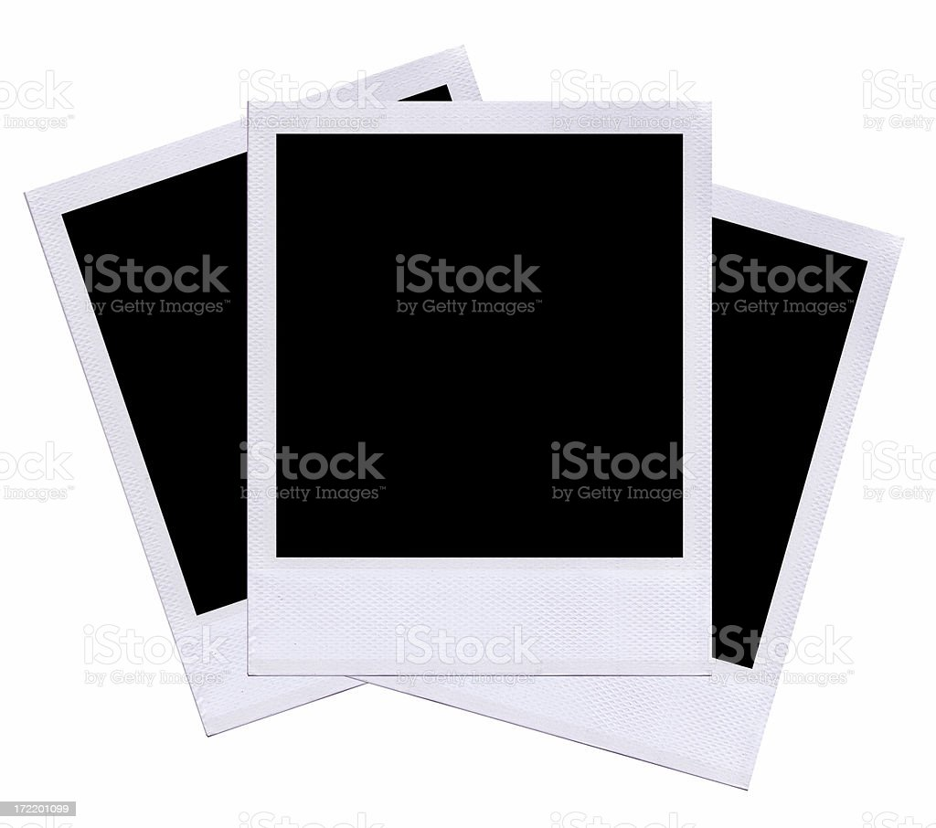 Instant Film Layout royalty-free stock photo