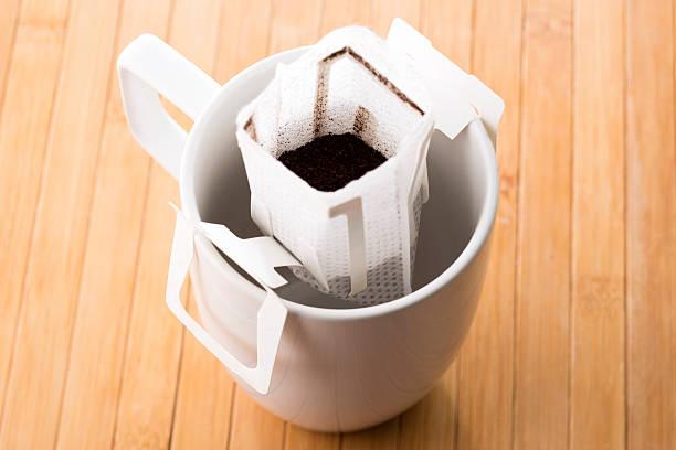Instant frisch gebrühtem Kaffee – Foto
