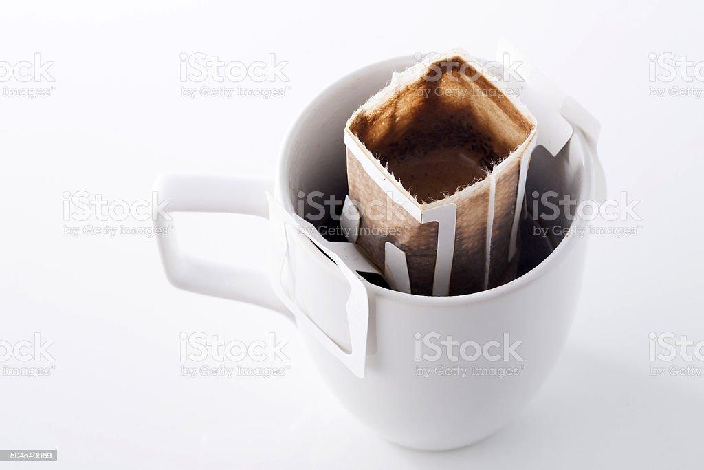 Instant frisch gebrühten Tasse Kaffee – Foto