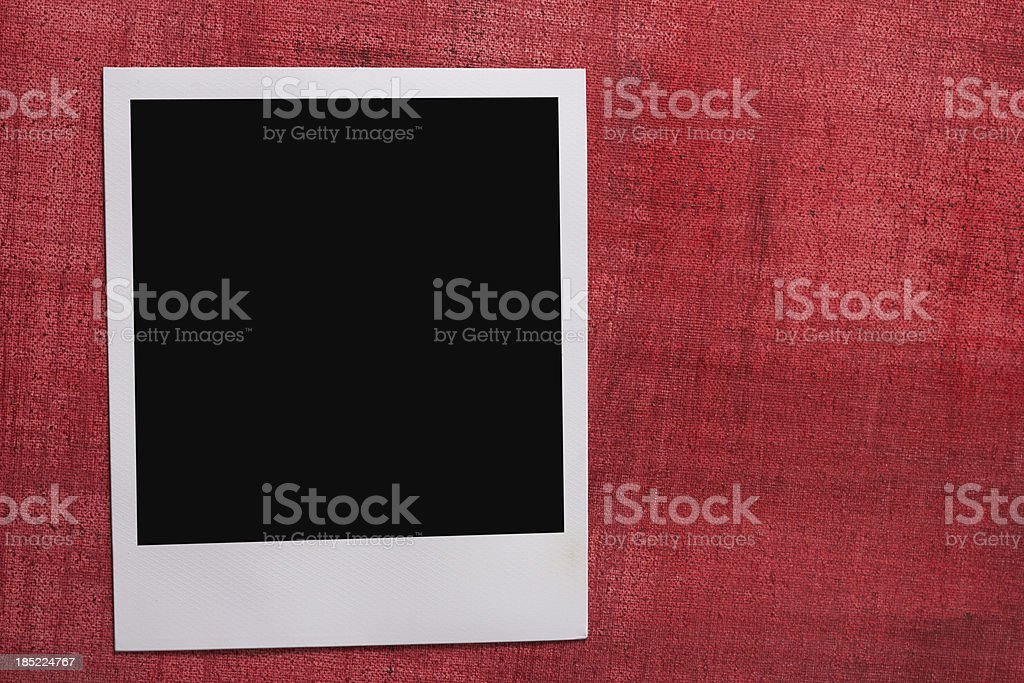Instant Photo Frame royalty-free stock photo