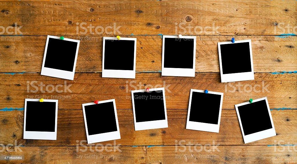 Instant Fotorahmen Lizenzfreies stock-foto