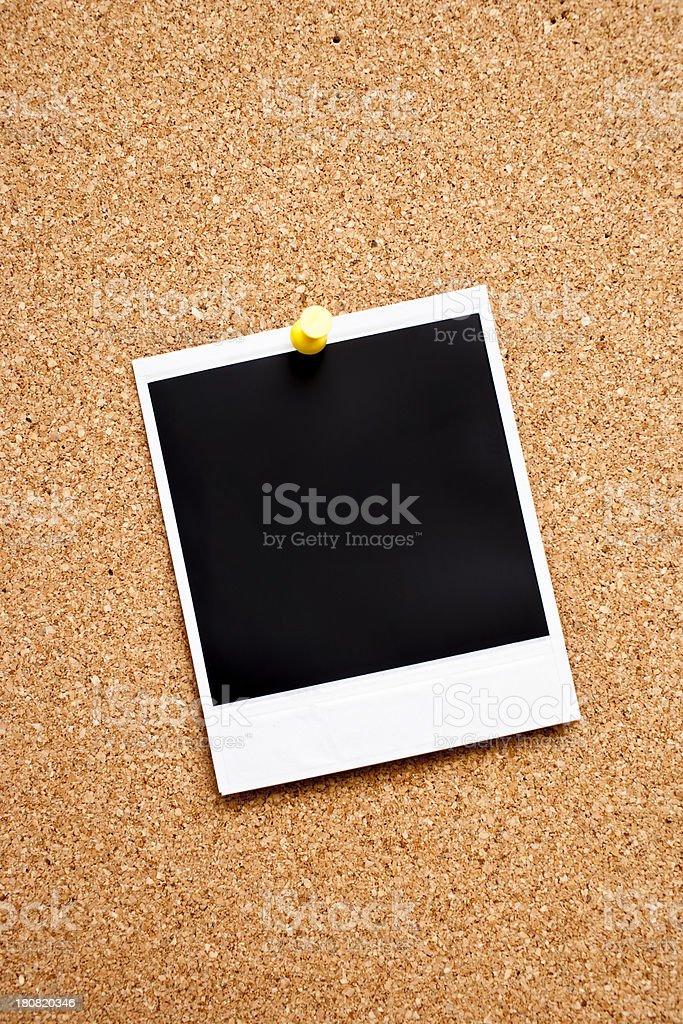 Instant Photo Print royalty-free stock photo