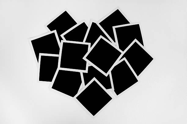 Instant Fotos mit Papier Herzen – Foto
