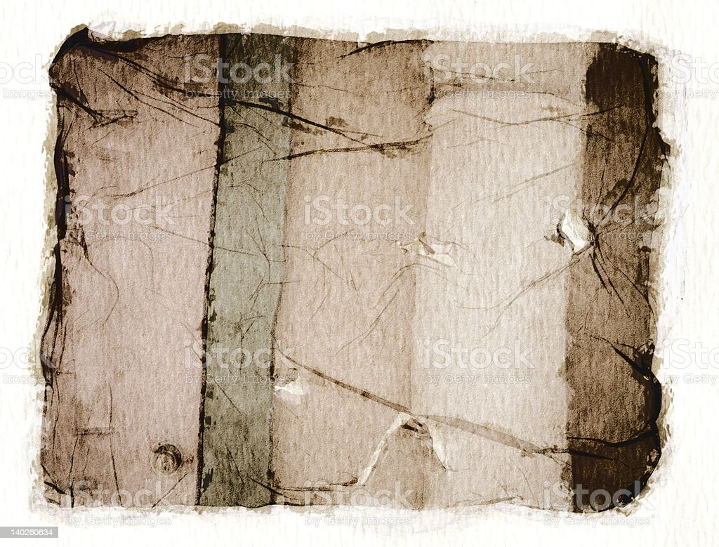 Instant print Emulsion royalty-free stock photo
