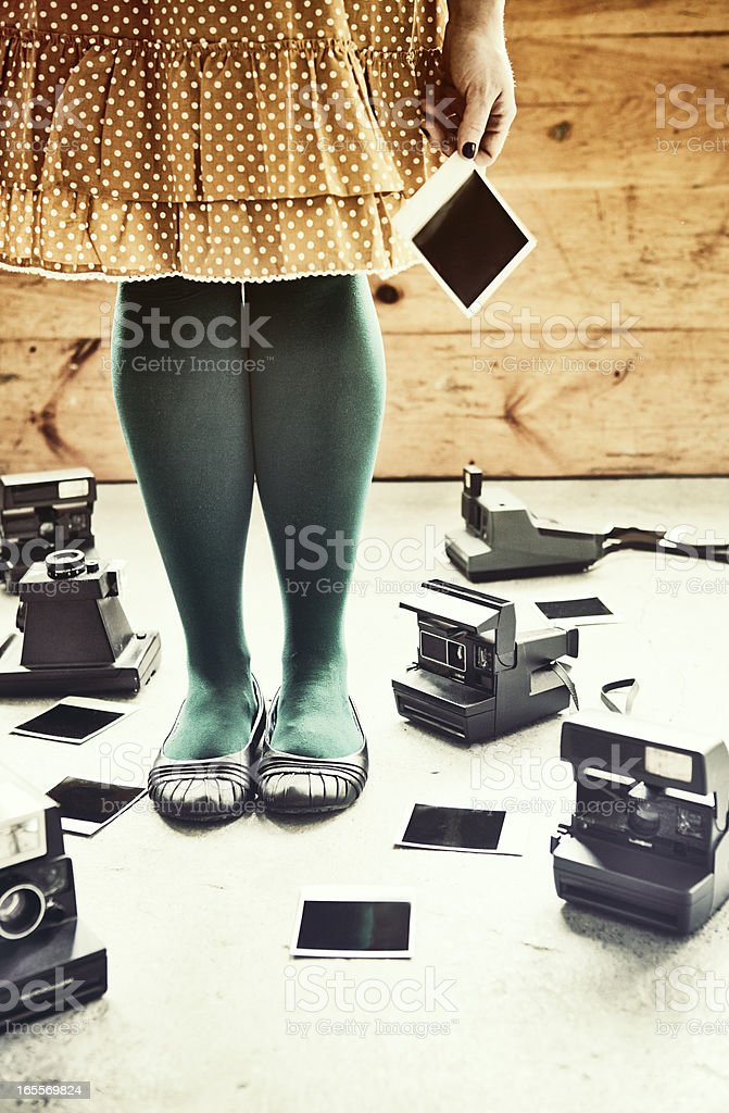 Instant Print Obsession royalty-free stock photo
