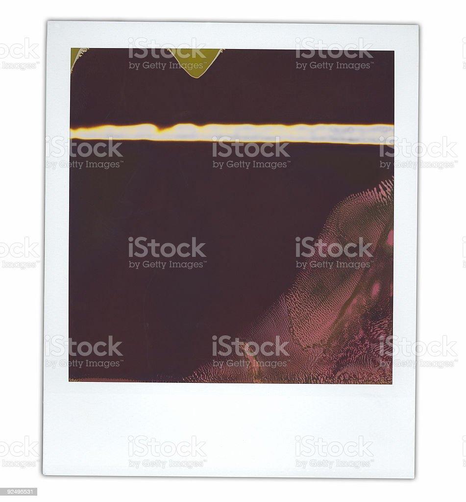Instant print photo royalty-free stock photo