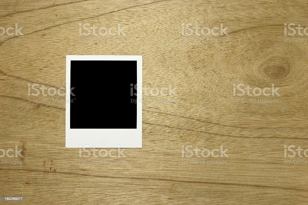 Instant print royalty-free stock photo