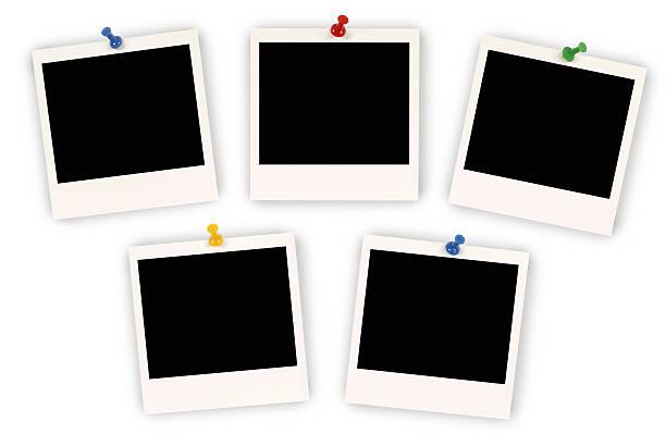 instantané des photos - épingler photos et images de collection