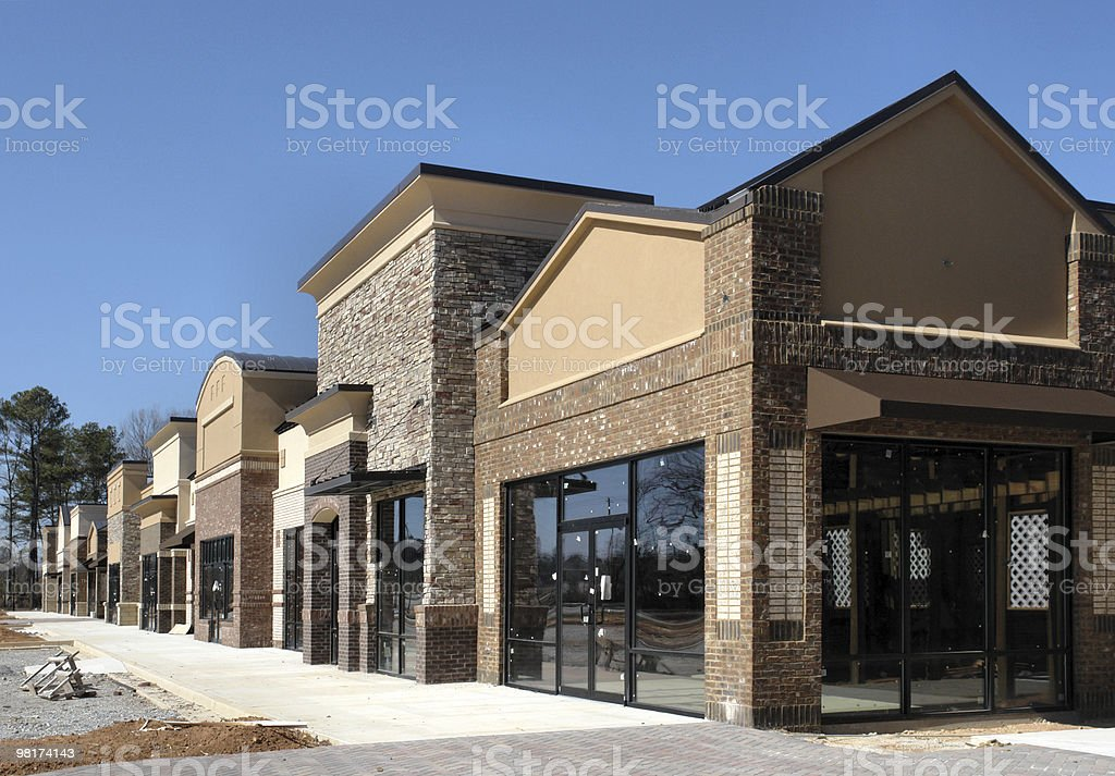 Instant Village stock photo