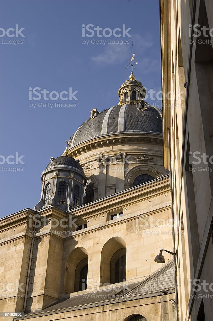 Institut de France royalty-free stock photo