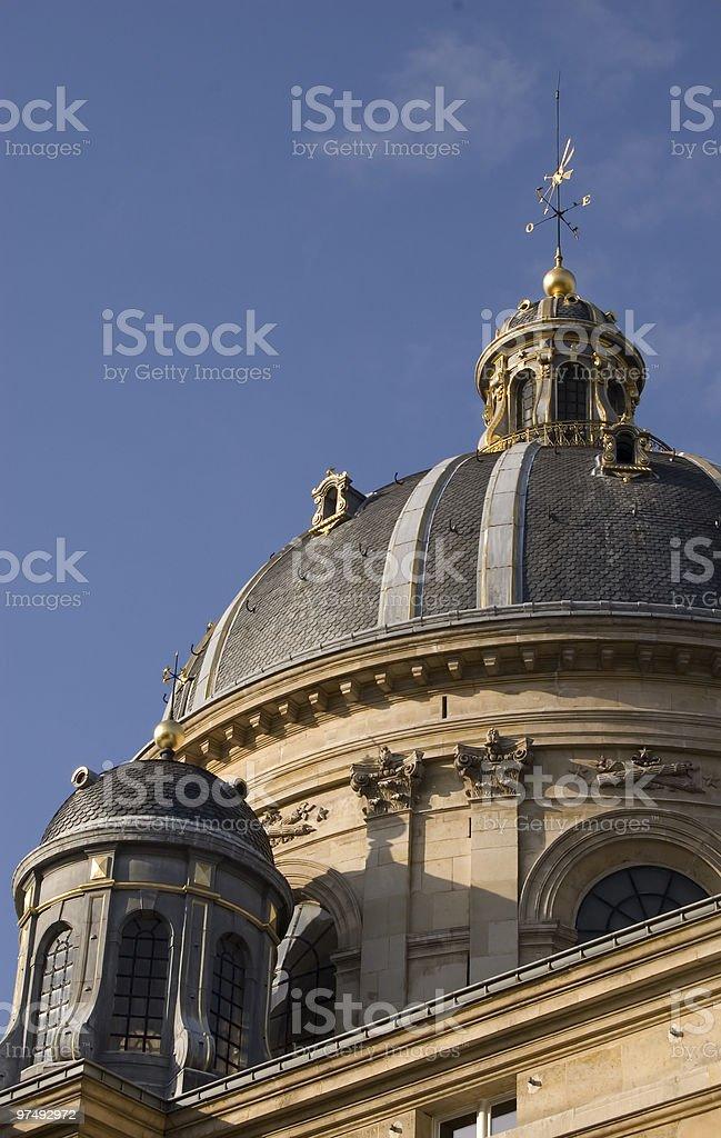 Institut de France royalty-free stock photo