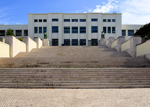 Instituto Superior Técnico (IST), locally know simply as 'Técnico' is Portugal's most prestigious engineering school - main building, Alameda Campus - Lisbon