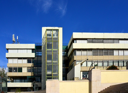 Instituto Superior Técnico (IST), locally know simply as 'Técnico' is Portugal's most prestigious engineering school - Civil Engineering and Architecture building, Alameda Campus - Lisbon