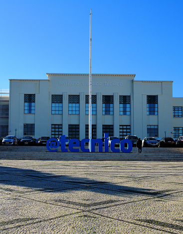 Instituto Superior Técnico (IST), locally know simply as 'Técnico' is Portugal's most prestigious engineering school - main building and Twitter handle - Lisbon