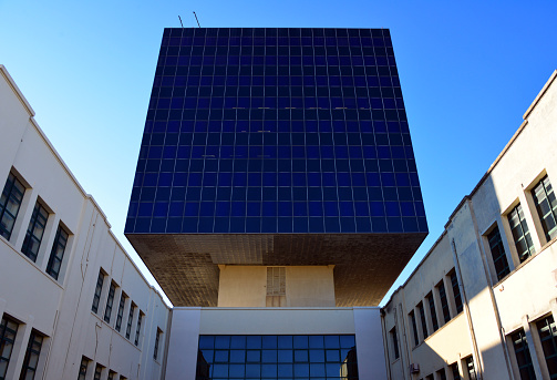 Instituto Superior Técnico (IST), locally know simply as 'Técnico' is Portugal's most prestigious engineering school - North Tower - Lisbon
