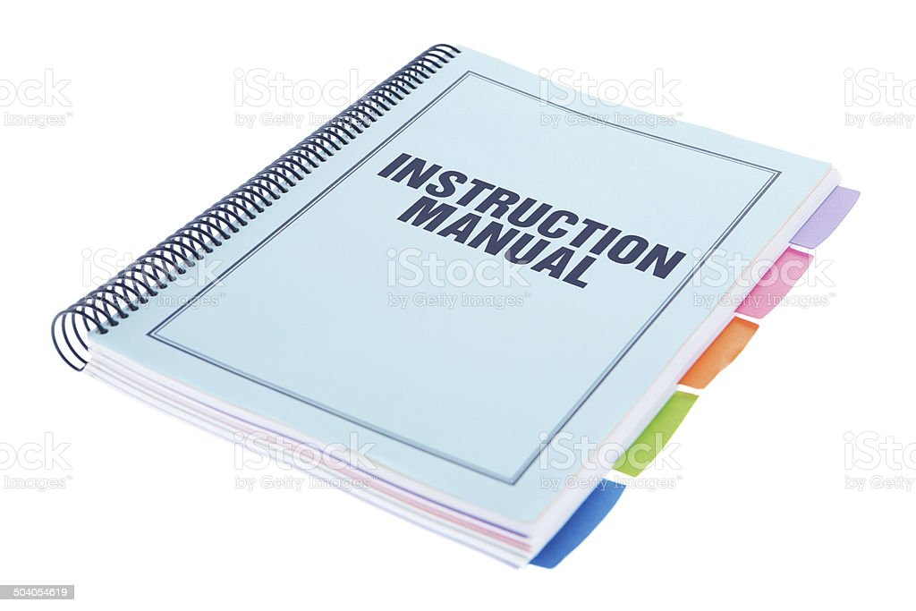 Instruction Manual Stock Photo Download Image Now Manual Guide