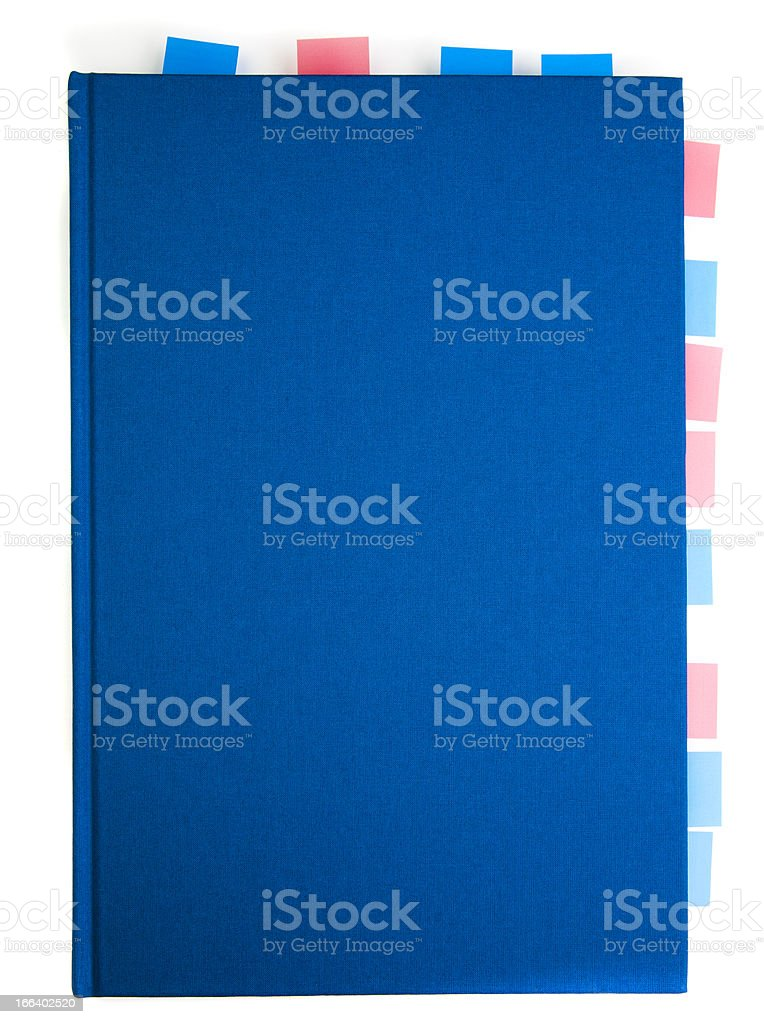Instruction Manual marked with royalty-free stock photo