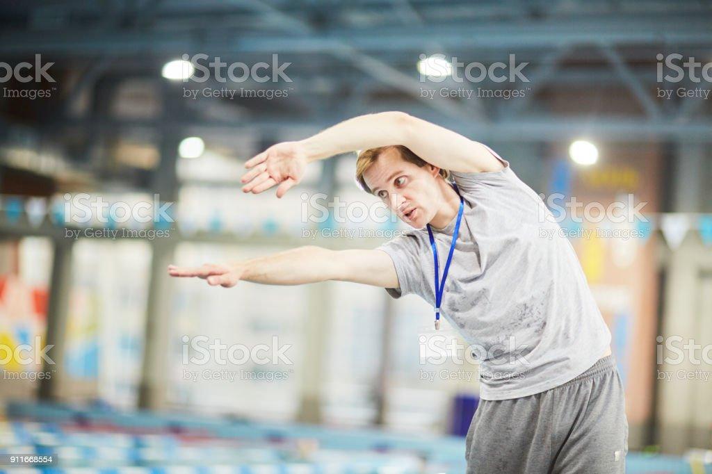 Anweisungen des Trainers – Foto