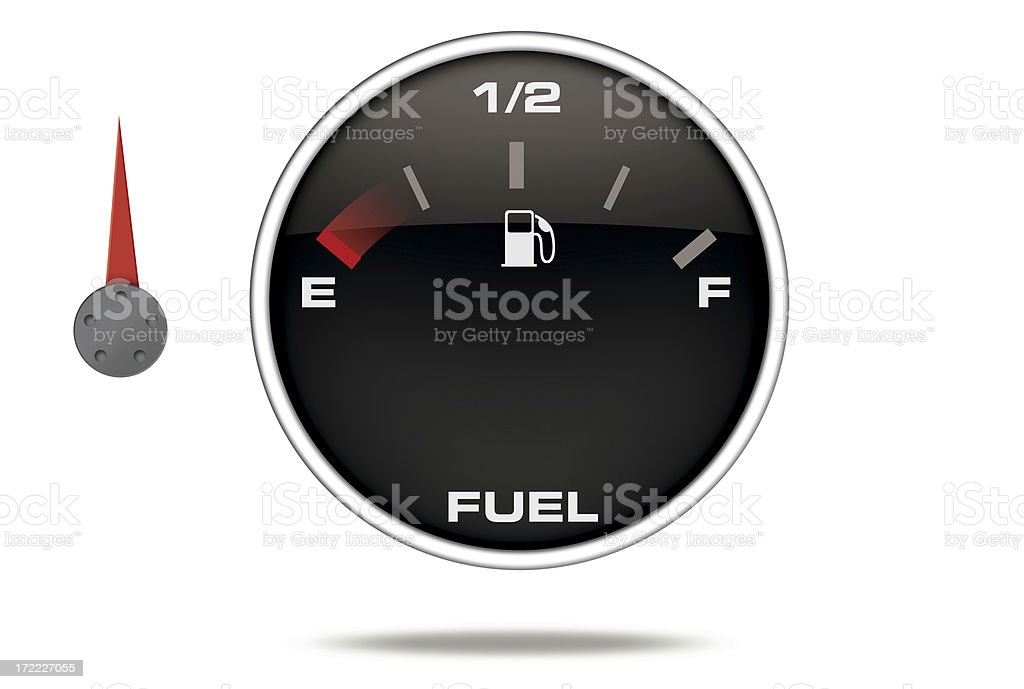 3D Instrument Fuel royalty-free stock photo