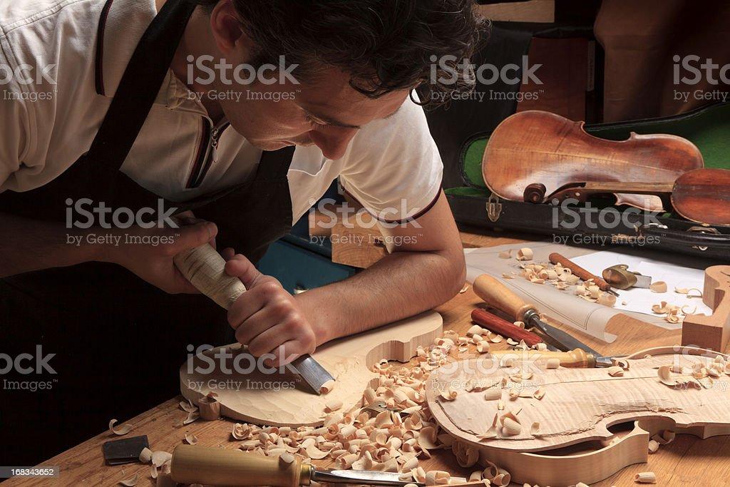 Instrument Maker royalty-free stock photo